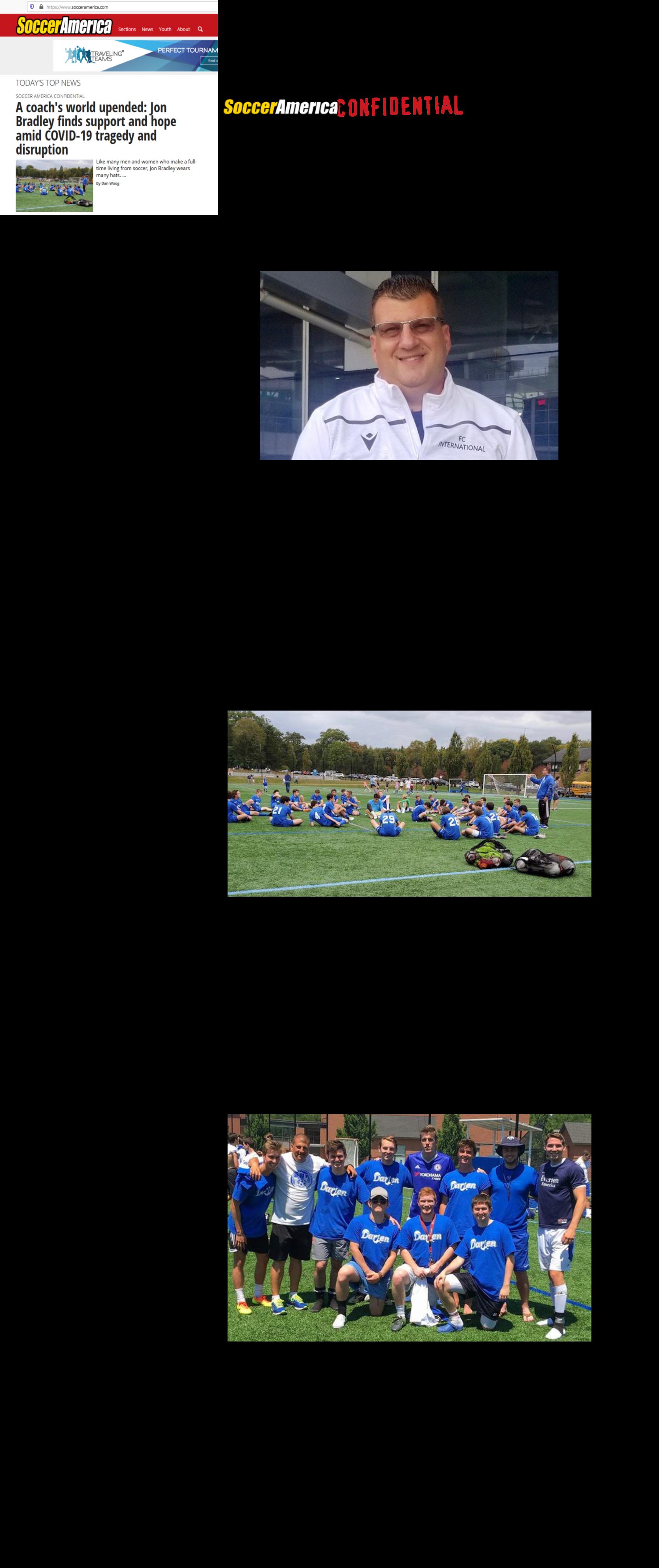 Soccer America Article